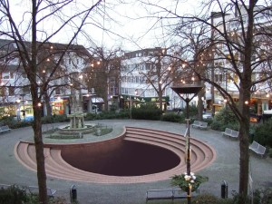 Justyna Orzechowska, Marienplatz (Fotomontage, 2008)